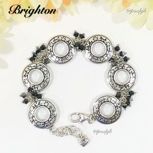 Brighton Bracelet Open Ring Silver Swarovski